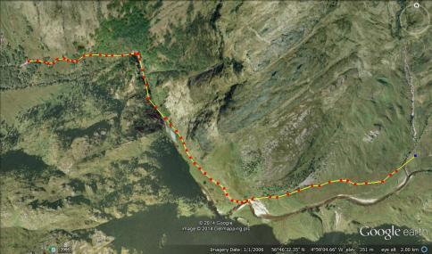 Glen Nevis Gorge